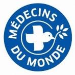 Logo médecins du monde pour projet uninsured migrants