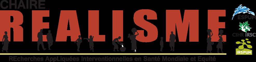 Logo de la Chaire REALISME