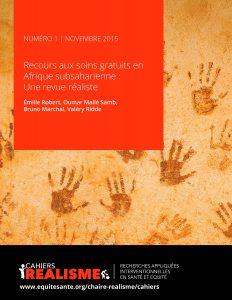 Cahiers realisme Numero 1 - Nov20151