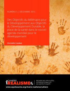 Cahiers REALISME Numero 5 - Dec20151