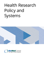 Health research policy and systems journal cover